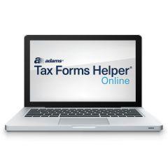 Adams® Tax Forms Helper® Online 2019