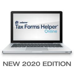 Adams® Tax Forms Helper® Online 2020